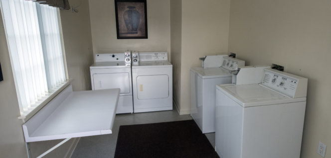 Laundry Room at Affordable Corporate Suites
